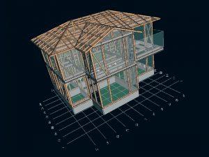 構造計算:耐久壁の量