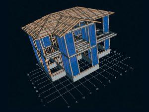 構造計算:耐久壁の配置