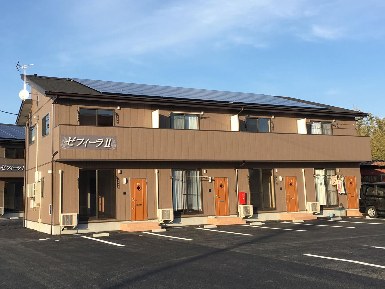 賃貸住宅用:太陽光発電システム