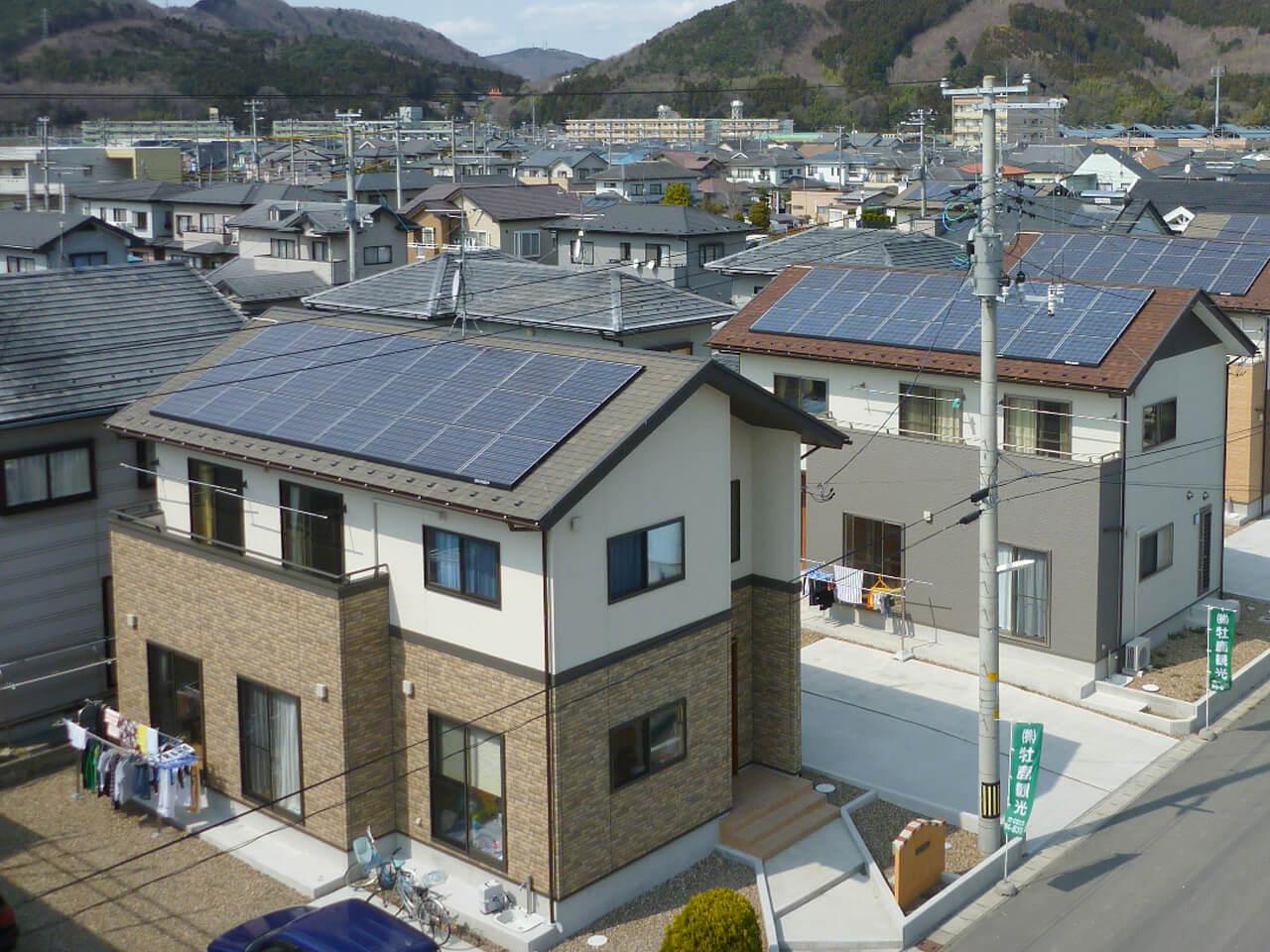 戸建住宅用:太陽光発電システム