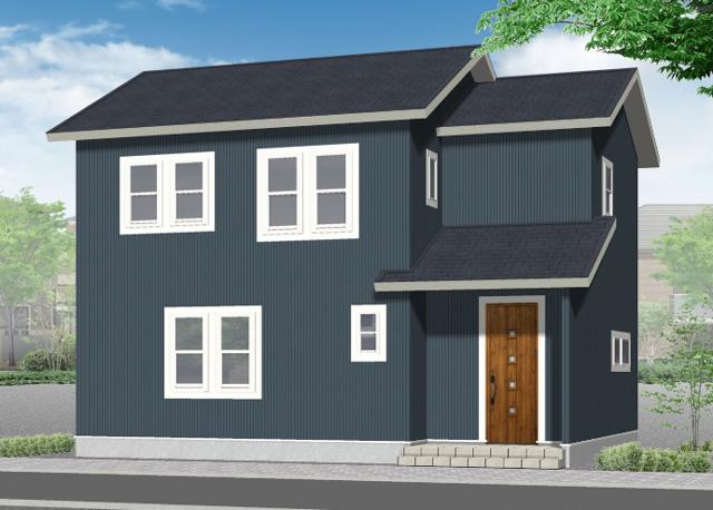 建築中:大瓜フォルカーサ:モデルハウス