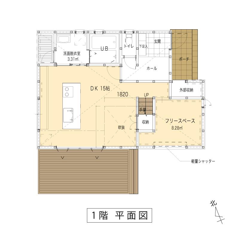 ミータス1F:平面図