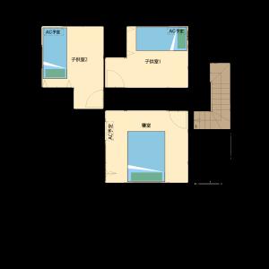 2階:平面図